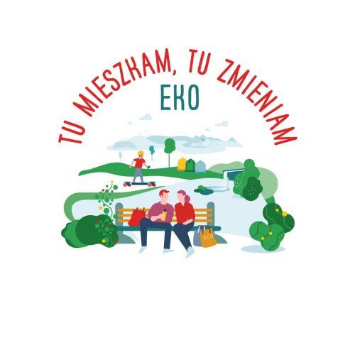 logo Programu TU MIESZKAM TU ZMIENIAM EKO