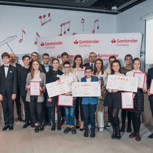 Stypendyści Fundacji Santander 2019