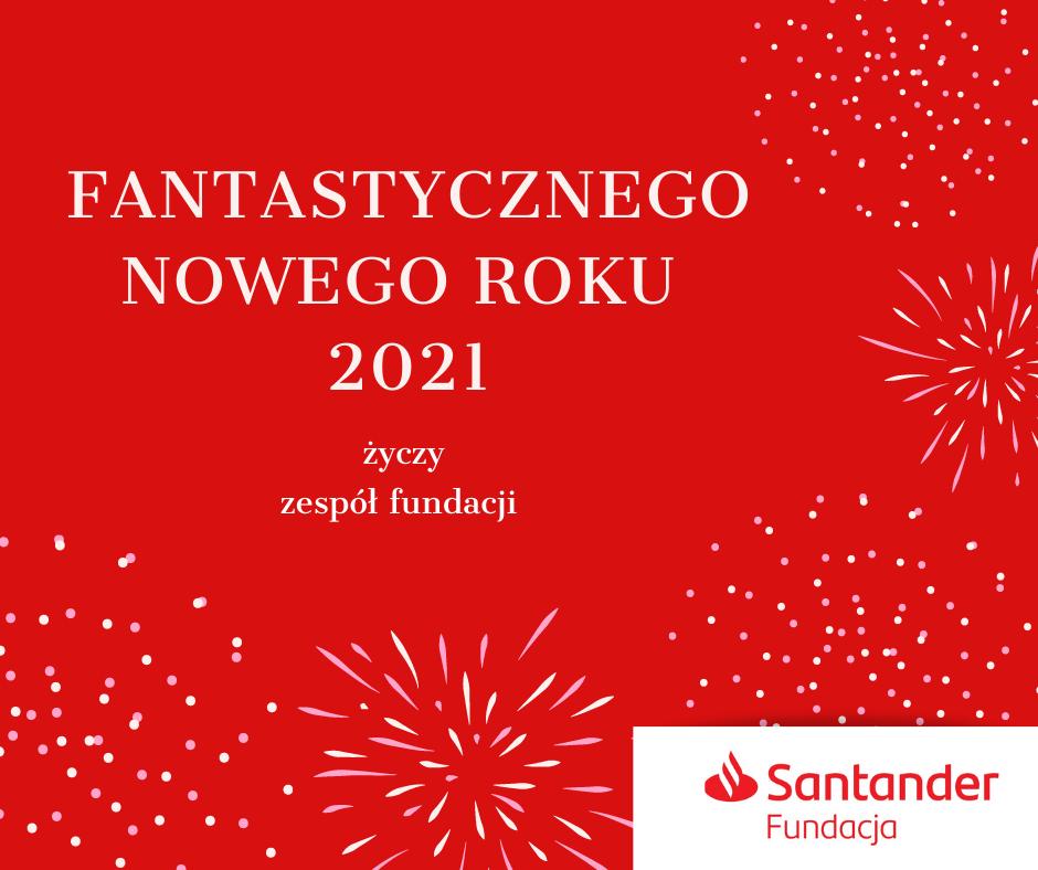 Fantastycznego Nowego Roku 2021